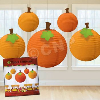 FALL PUMPKIN LANTERNS