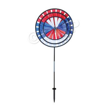 PATRIOTIC  WIND SPINNER