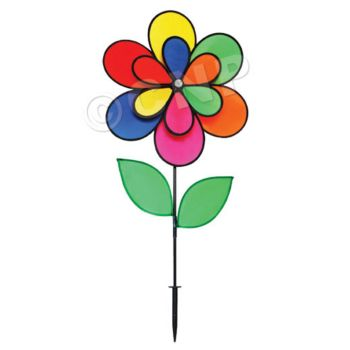DOUBLE FLOWER WIND SPINNER