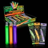 Halloween Counter Display - 6 Inch Glow Sticks, 24 Pack