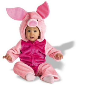 Baby Piglet Plush Bodysuit Infant Toddler Costume