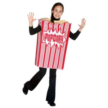 Movie Night Popcorn Child Costume