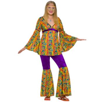 Purple Haze Hippie Teen Costume