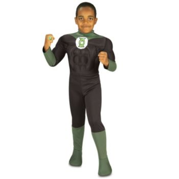 Muscle Chest Green Lantern Toddler Costume