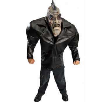Big Bruiser Punk Zombie Teen Costume