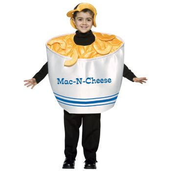 Mac and Cheese Child Costume