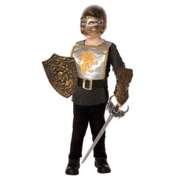 Silver Knight Child Costume Kit