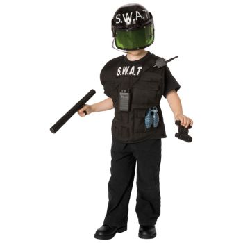S.W.A.T. Officer Child Costume Kit