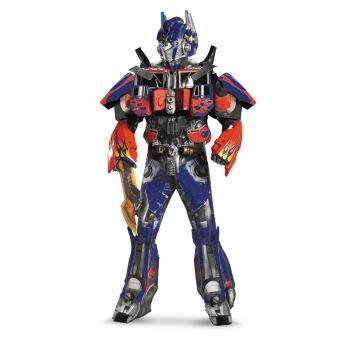 Transformers Optimus Prime 3D Vacuform Costume