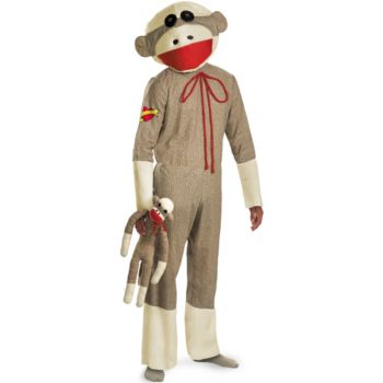 Playful Monkey Adult Costume