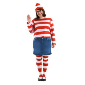 Where's Waldo - Wenda Plus Adult Costume