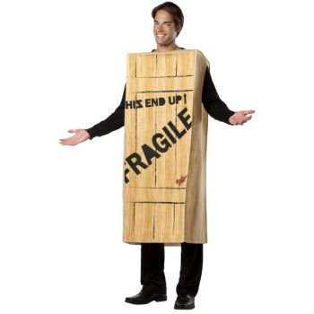 A Christmas Story Fragile Wooden Crate Adult Costume