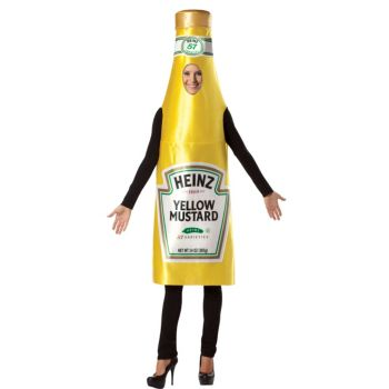Heinz Classic Mustard Bottle Adult Costume