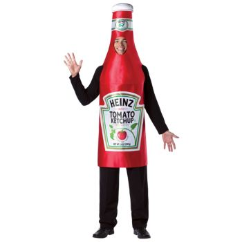 Heinz Classic Ketchup Bottle Adult Costume