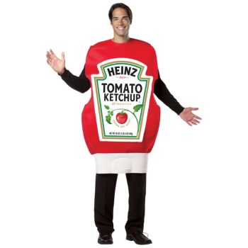 Heinz Ketchup Squeeze Bottle Adult Costume
