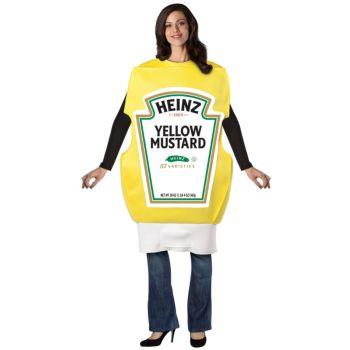 Heinz Mustard Squeeze Bottle Adult Costume