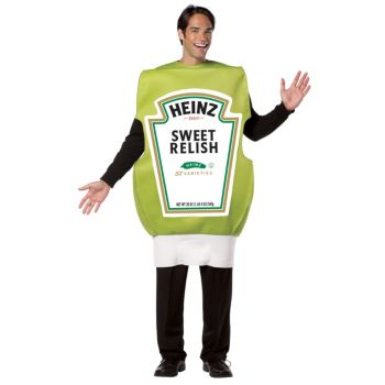 Heinz Relish Squeeze Bottle Adult Costume
