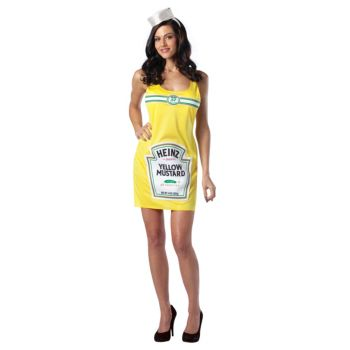 Heinz Mustard Tank Dress Adult Costume