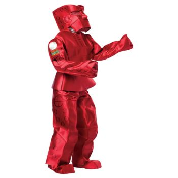 Rock'em Sock'em Robots - Red Rocker Adult Costume