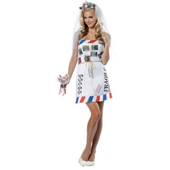 Mail Order Bride Adult Costume