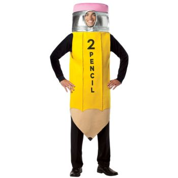 #2 Pencil Adult Costume