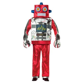 Retro Robot Adult Costume