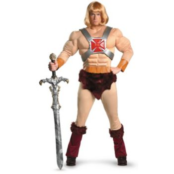 Masters Of The Universe He-Man Adult Costume