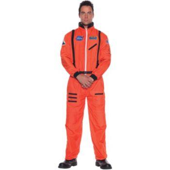 Astronaut (Orange) Plus Adult Costume