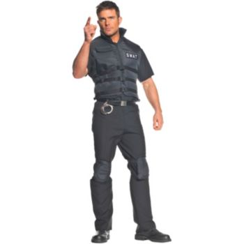 SWAT Plus Adult Costume