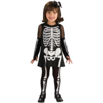 Skeleton Girl Toddler Costume