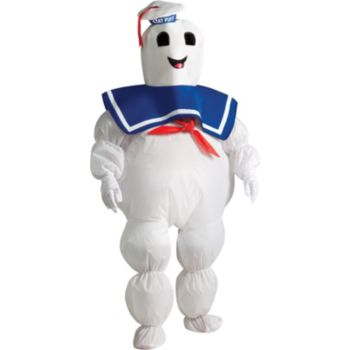 Ghostbusters Stay Puft Marshmallow Man Inflatable Child Costume
