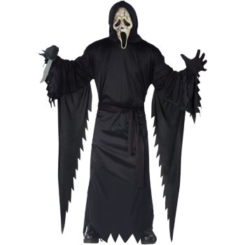 Scream 4 - Zombie Ghost Face Teen Costume
