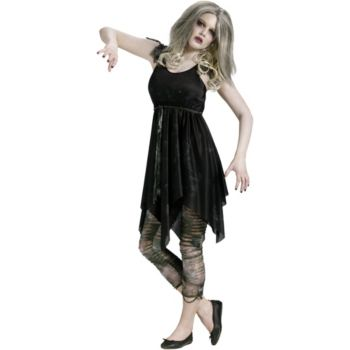 Night Zombie Teen Costume