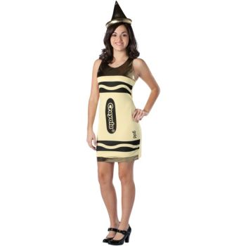 Crayola Gold Crayon Teen Costume