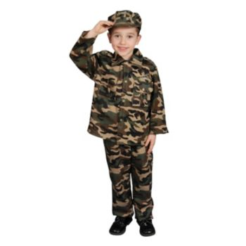 Military Officer ToddlerChild Costume