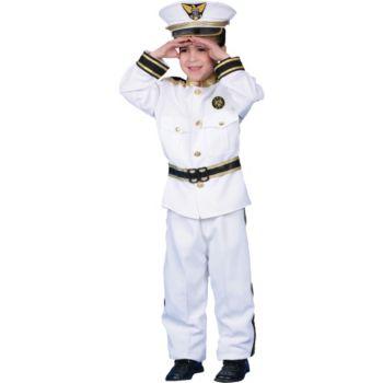 Navy Admiral Deluxe Child Costume