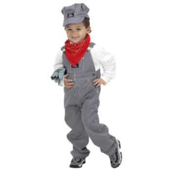 Jr. Train Engineer Suit Child Costume