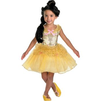 Beauty and the Beast Belle Ballerina ToddlerChild Costume
