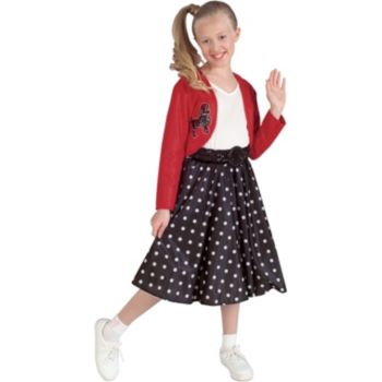 Polka Dot Rocker Child Costume
