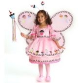 Cupcake Fairy Toddler Child Costume