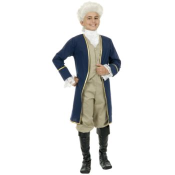 First President George Washington Child Costume