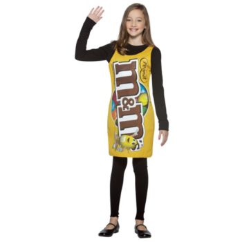 M & M's Peanut Tank Dress TweenTeen Costume