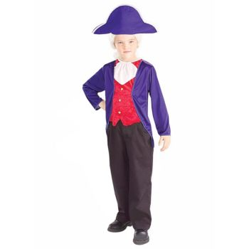President George Washington Child Costume