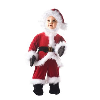 Little Santa ToddlerChild Costume