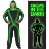 Glowman Adult Costume