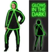 Glowgirl Adult Costume