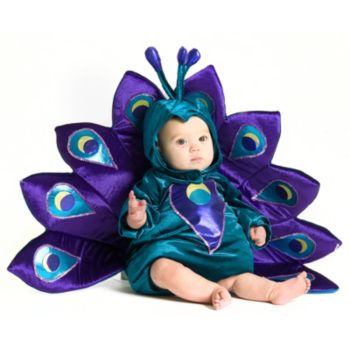 Baby Peacock InfantToddler Costume