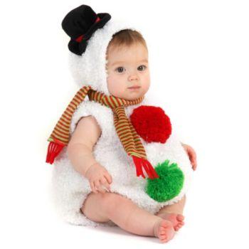 Baby Snowman InfantToddler Costume