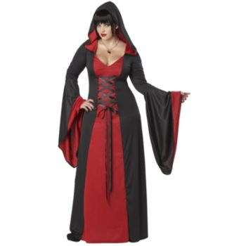 Deluxe Hooded Robe Adult Plus Costume