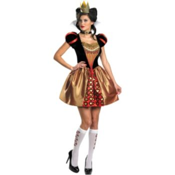 Alice In Wonderland Movie - Sassy Red Queen Adult Costume